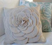 Shabby Flower Pillow Tutorial