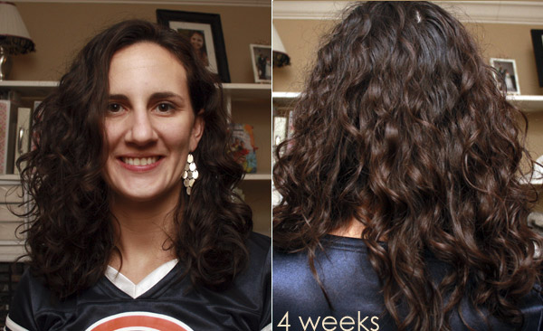 Curly Girl Method - Week 4 Results