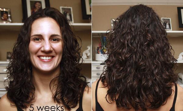 Curly Girl Method - Week 5 Results