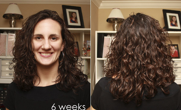 Curly Girl Method - Week 6 Results