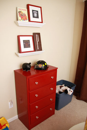 Fire Station Bedroom
