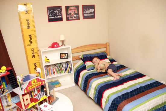 Fire Station Bedroom