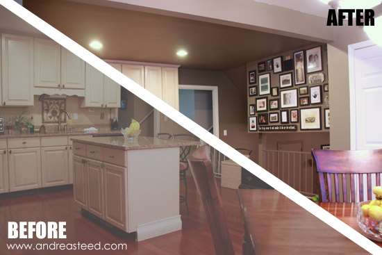 Kitchen Paint - Before & After
