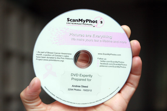 ScanMyPhotos.com Review - A DVD of Memories!