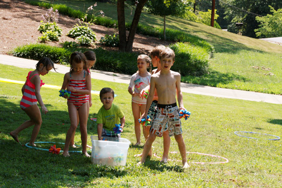 Outdoor Water Games - Birthday Party