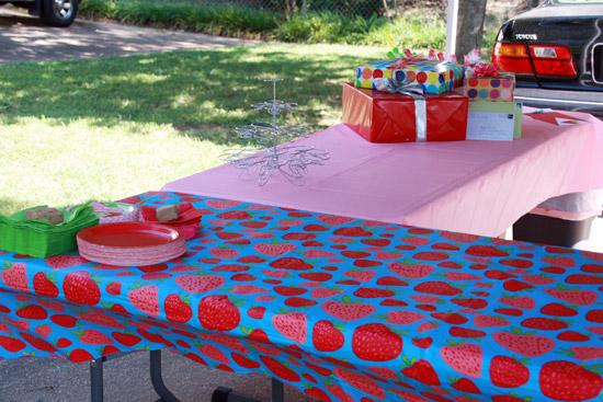 Strawberry Shortcake Birthday Party Decorations