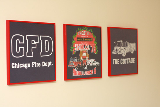 Framed T-Shirts as Wall Art
