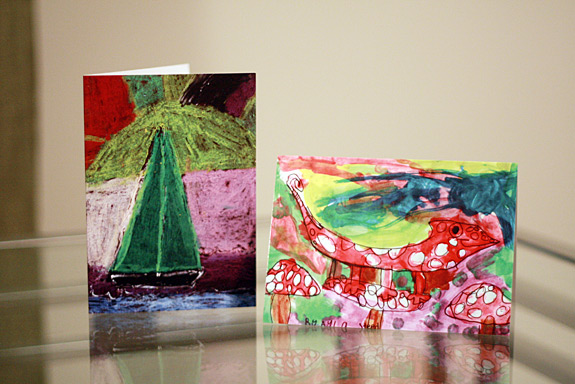 Custom Notecards by Zazzle with Children's Artwork