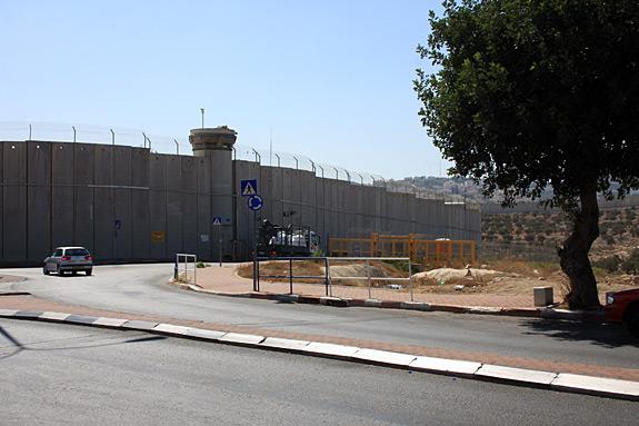 West Bank Wall near Bethlehem