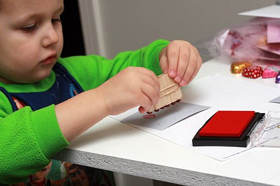 Stamping Tricks for Toddlers