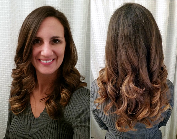 Balayage Hair Technique