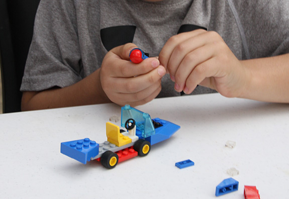 Lego Race Car Kits for Birthday Party Game