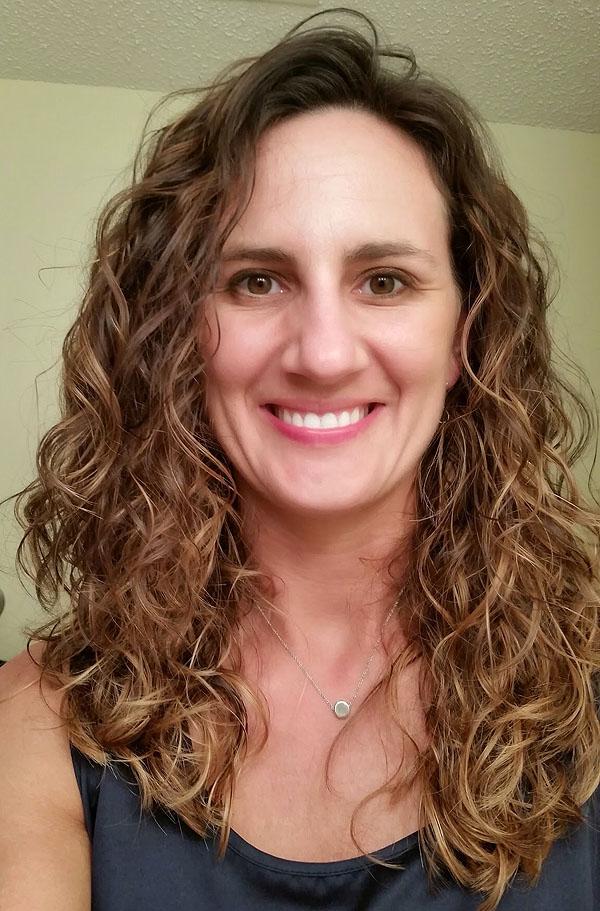 Long Curly Hair Balayage Color