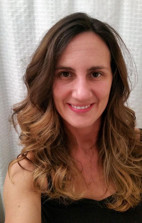Long Hair Balayage Technique