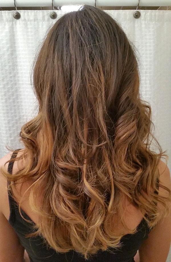 Long Hair Balayage