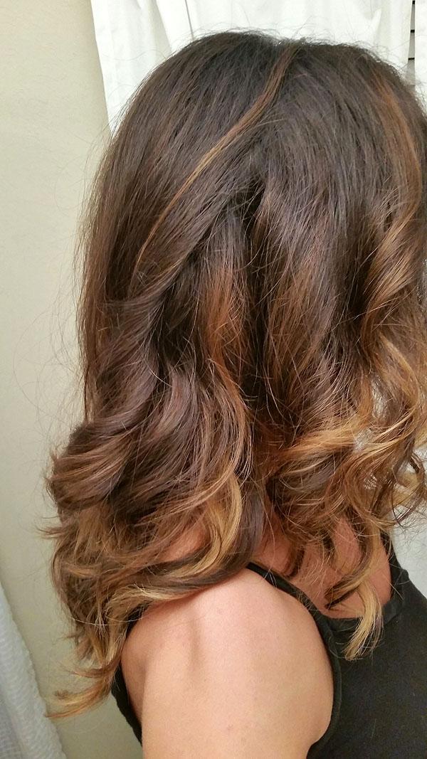 Bayalage Long Brown Hair