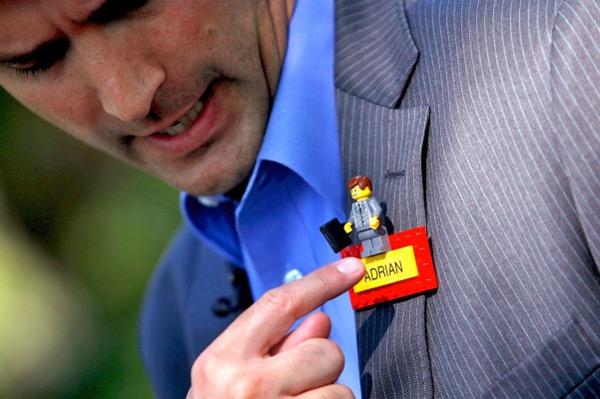 Legoland Nametag