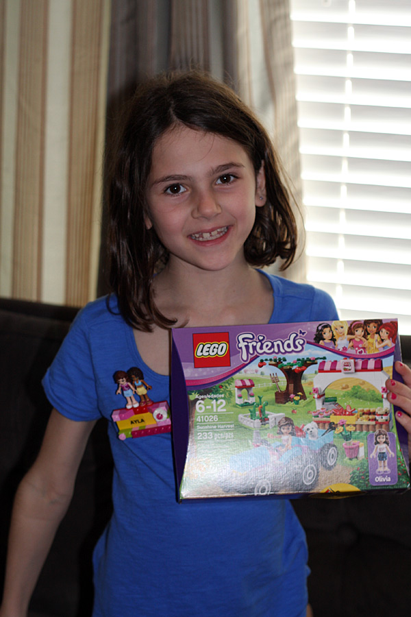 New Lego Friends Legoland Nametag