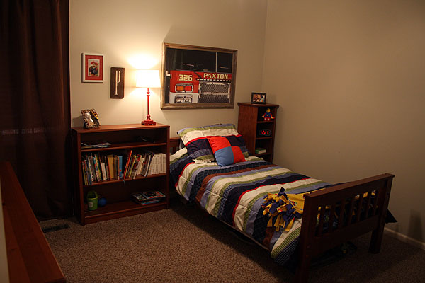 Fire Department Themed Boys Bedroom