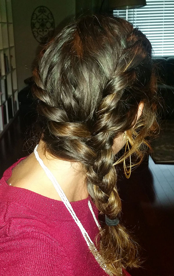 Easy Rope Braid Tutorial for Long Hair