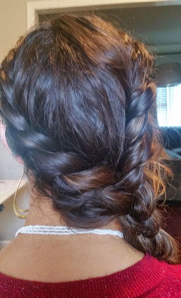 """Better than a Ponytail -- The """"Catniss"""" Braid"""