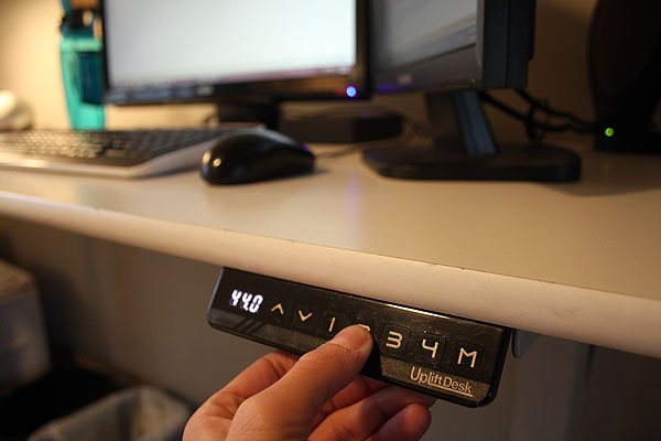Memory Keypad for Uplift 900 Adjustable Desk