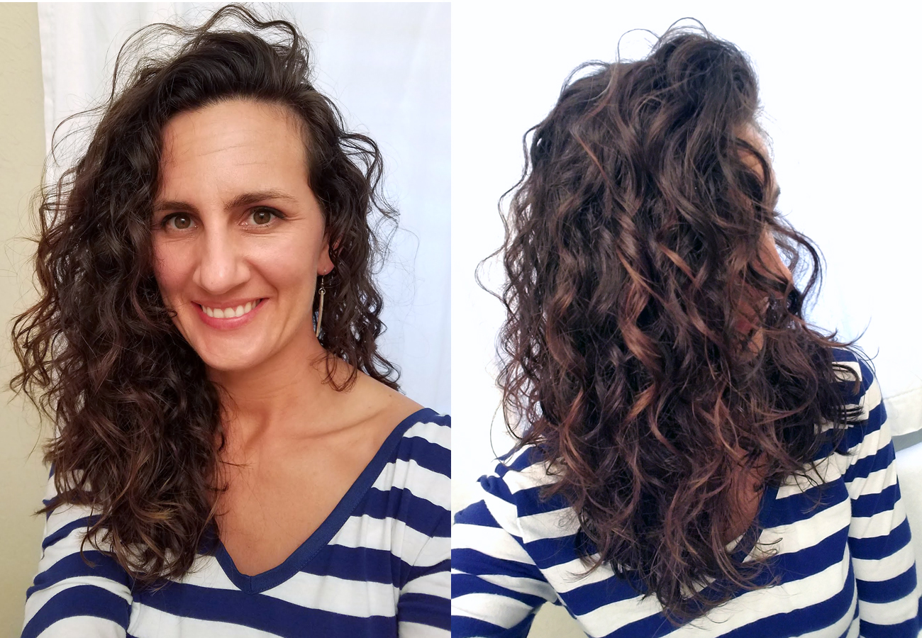 Curly Girl Method Before And After Aeedsfe