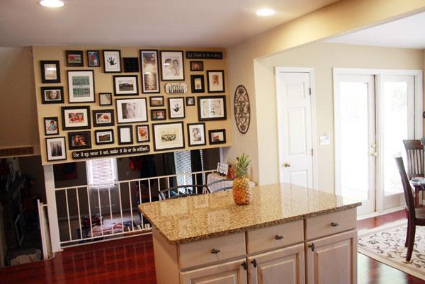 Kitchen Gallery Wall Tutorial