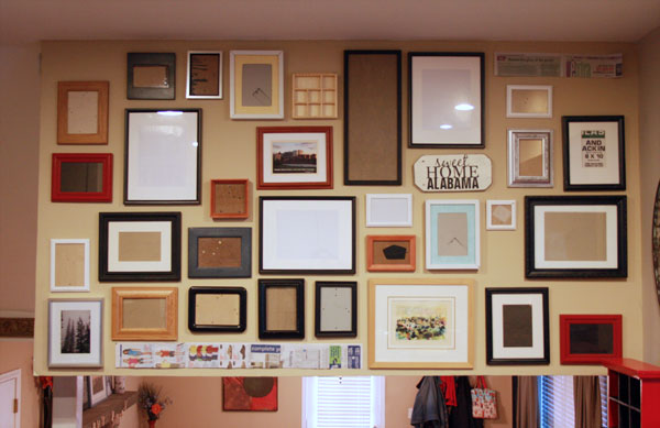 Kitchen Gallery Wall (Tutorial)   a.steed\'s.life