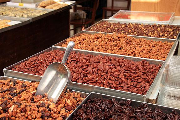 Nuts in Israeli Market