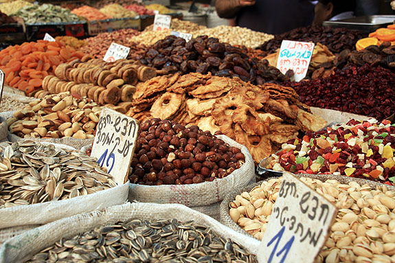 Dried Fruit in Israeli Market