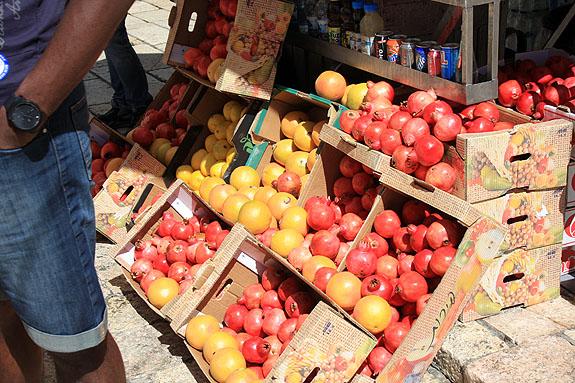 Israeli Vegetable Stand