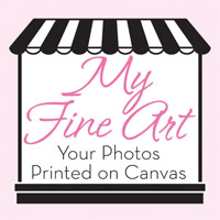 My Fine Art - Your Photo Printed on Canvas
