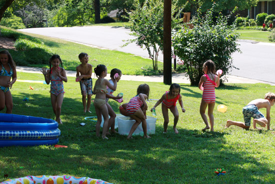 Outdoor Water Games