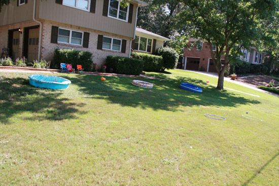 Water Games Birthday Party