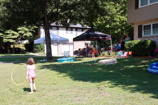 Summer Fun Festival Birthday Party